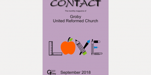 Newsletter (Contact) – Sept 2018