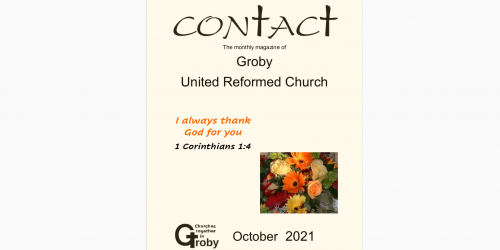 Newsletter (Contact) October 2021